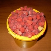 Быстрая заготовка с малины и смородины