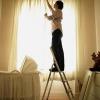 Что лучше, химчистка штор на дому или на весу на фабрике?
