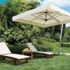 Какой садовый зонт от солнца лучше купить для дачи?