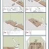 Кладем ламинат своими руками по простой технологии, укладка досок.