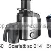 Обзор соковыжималок moulinex ju 650 , scarlett sc 014, bosch mes 3000.