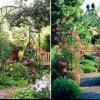 Садовые металлические арки для вьющихся растений своими руками.