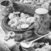Способы горячей и холодной засолки грибов